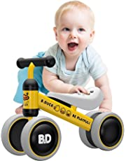 YGJT Bicicleta sin Pedales Bebé Juguetes Bebes 1 año 10- 24 Meses Regalo Elección