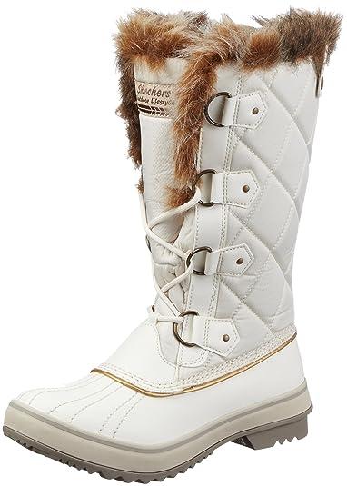Highlanders Cervin 47700 - Chaussures Pour Femmes / Noir Skechers Q3Z3zEb