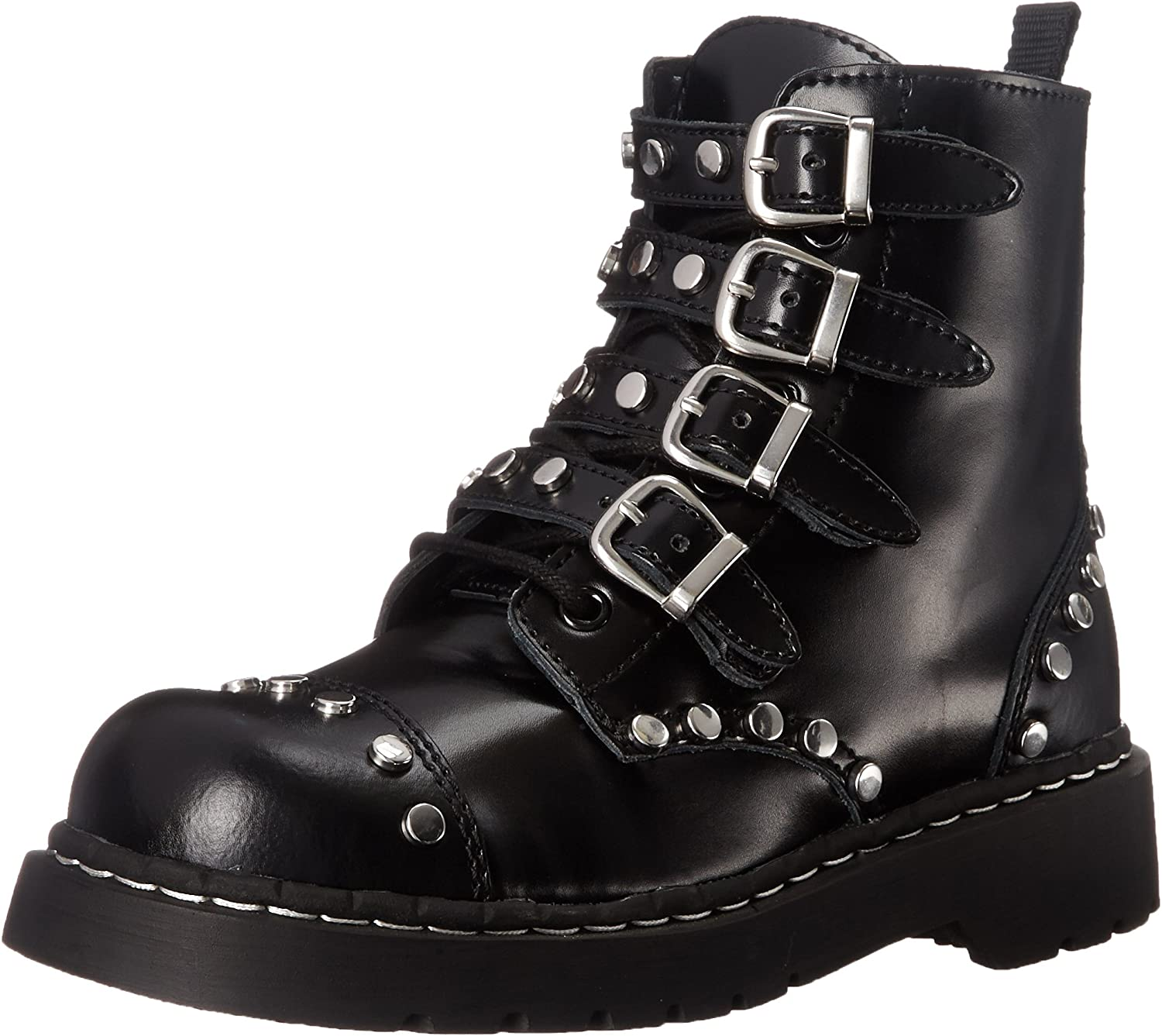 T.U.K. Women's Studded Combat Boot