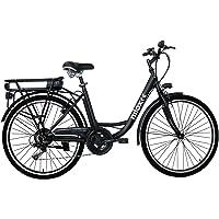 Nilox 30NXEB266VFM1V2 - Bicicleta eléctrica E Bike 36V 7.8AH 26X1.75P - J5, Motor 36 V 250 W, batería Recargable Samsung…