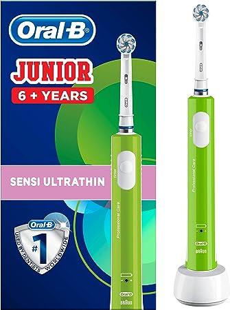 Oral-B Junior - Cepillo Eléctrico Recargable para Niños a Partir ...