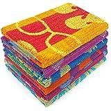 Kaufman - Terry Beach & Pool Towel 6-Pack of Assorted Designs - 30in x 60in (104700-6PK)