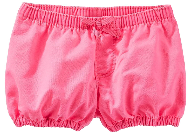 OshKosh BGosh Baby Girls Neon Bubble Bottoms Hot Pink 9 Months
