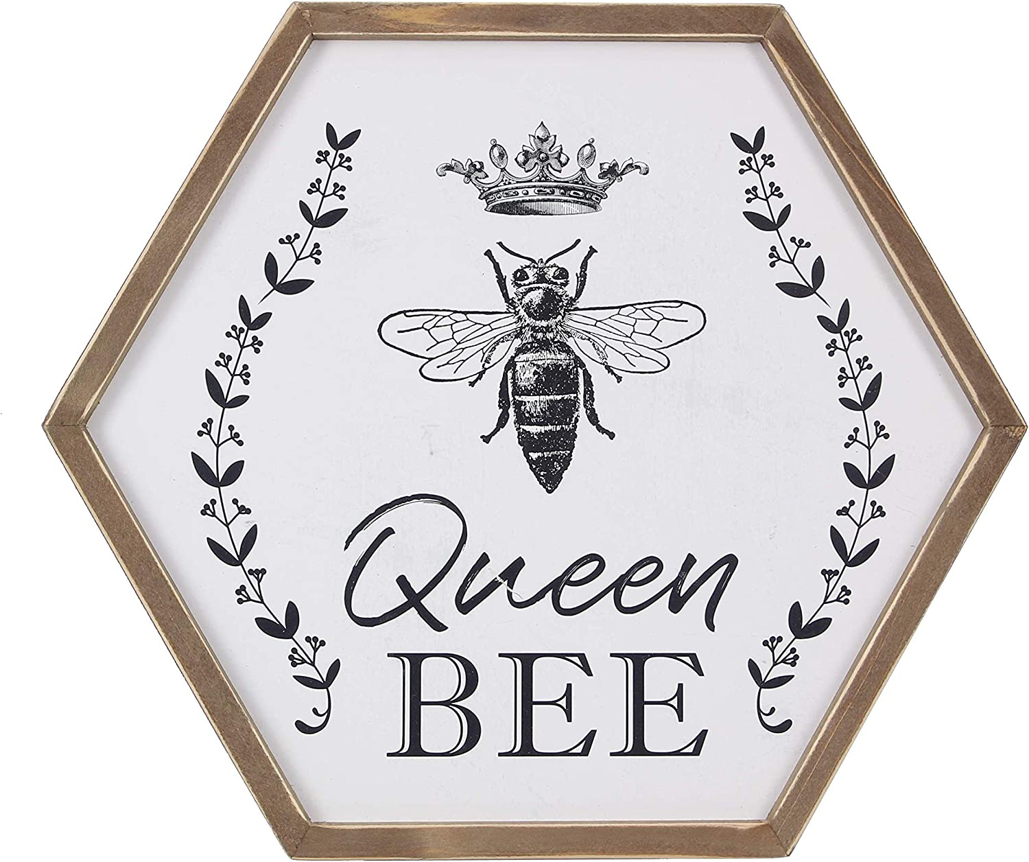 youngs Wood Queen Bee Framed Sign