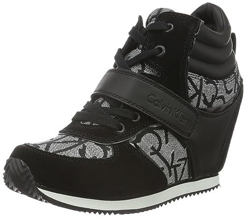 Calvin Klein JeansViridiana Metallic Jacquard/su - Zapatillas Mujer, Color, Talla 39: Amazon.es: Zapatos y complementos