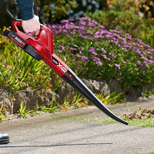 Ozito PXCBL 18v Cordless Garden Leaf Blower 2 x 2ah Li-ion