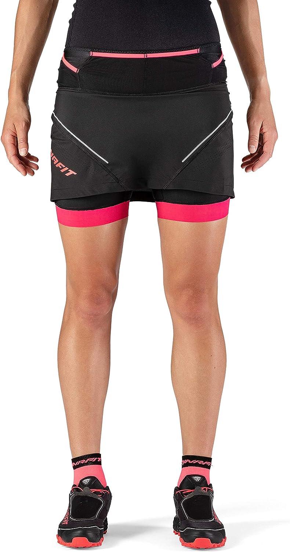DYNAFIT Ultra 2in1 Rock Damen Black Out 2020 Laufsport Shorts