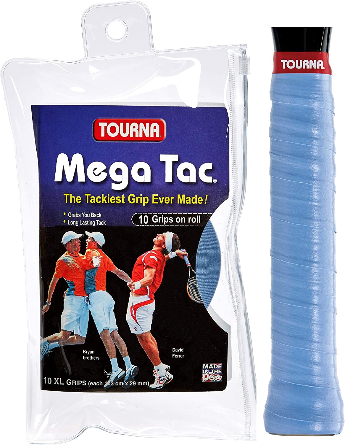 Unique Overgrip Mega TAC 10er - Mango de Raqueta de Tenis, Color ...