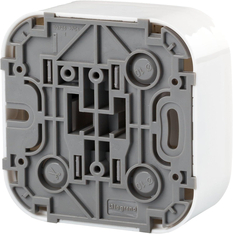 10 Amp Legrand 782404 Gama Forix Interruptor Luz de Pared Color Blanco