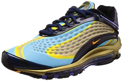online store 0e742 442ec Nike Air Max Deluxe Midnight Navy Laser Orange (8 D(M) US