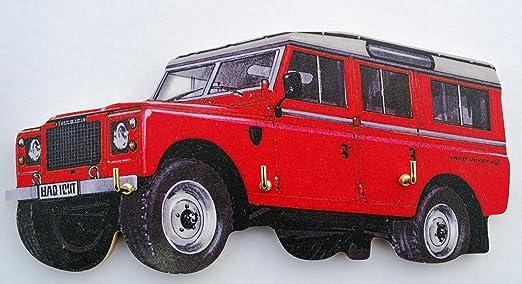 Land Rover serie 3 - Llavero, diseño de WT6S: Amazon.es: Hogar