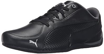 0b6b128479 PUMA Men s Drift cat 5 Carbon Sneaker Black