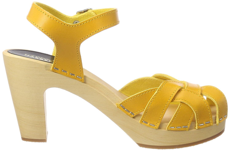 Pearl Sky High, Zuecos para Mujer, Amarillo (Warm Yellow Warm Yellow), 41 EU Swedish Hasbeens