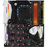Gigabyte GA-Z270X-Gaming-9 7/6th Generation Motherboard - Black (Intel Core i3/i5/i7 Processors, LGA 1151, Dual Channel DDR4, USB 3.1, PCI-E 3.0, PCI-E x1, SATA 6 GB, USB2)