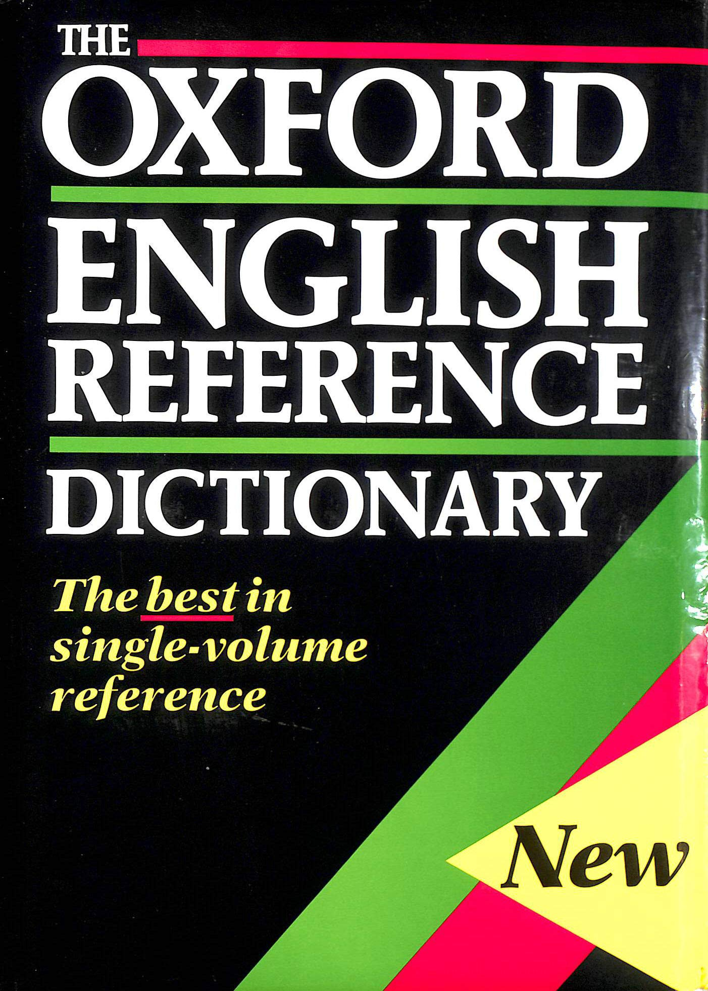 The Oxford English Reference Dictionary: Amazon.co.uk: Judy Pearsall, Bill  Trumble: 9780198613084: Books