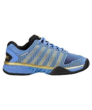 K-Swiss Hypercourt Express HB 50º Aniversario De La Mujer Tenis Zapatos, color azul, tamaño 38 EU: Amazon.es: Deportes y aire libre