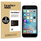 [2 Pack] iPhone 6/8 Screen Protector- iVoler [3D Touch Compatible] iPhone 6 / 6S/8 4.7 Inch Premium Tempered Glass Screen Protector- 0.2mm Ballistics Glass, 2.5D Round Edge, 9H Hardness Featuring Anti-Scratch, Anti-Fingerprint, Bubble Free- Lifetime Replacement Warranty