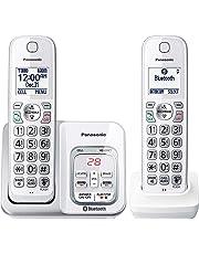 Panasonic KXTGD592W Dect_6.0 2-Handset Landline Telephone