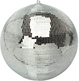 Brand New Soundlab Silver 300mm Lightweight Disco Mirror Ball Lighting Effect