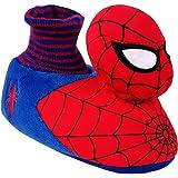 Marvel Spiderman Toddler Boy's Sock Top Slippers