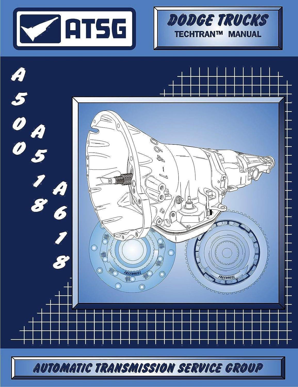 Amazon.com: ATSG A500 A518 A618 42RE 42RH 46RE Technical Service Repair  Manual: Automotive