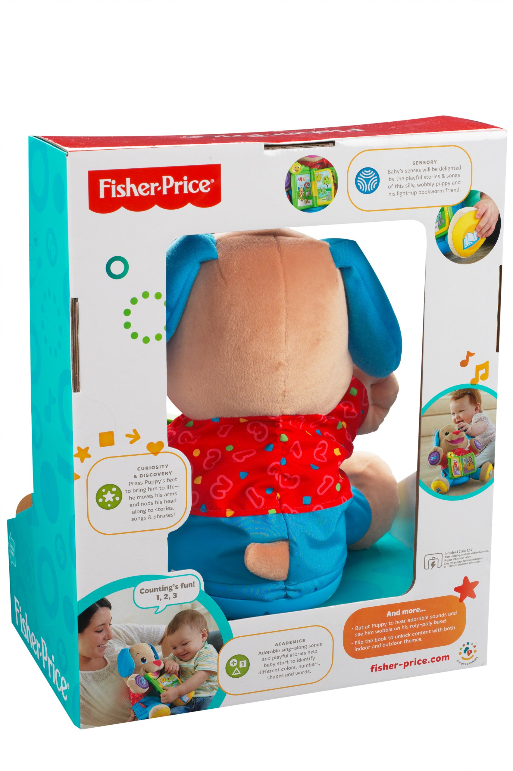 Fisher-Price Laugh & Learn Singin' Storytime Puppy by Fisher-Price (Image #9)