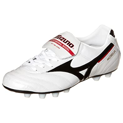 f08a11f624f ... switzerland shoes mizuno morelia md football mens white black red 44  55144 c5fad