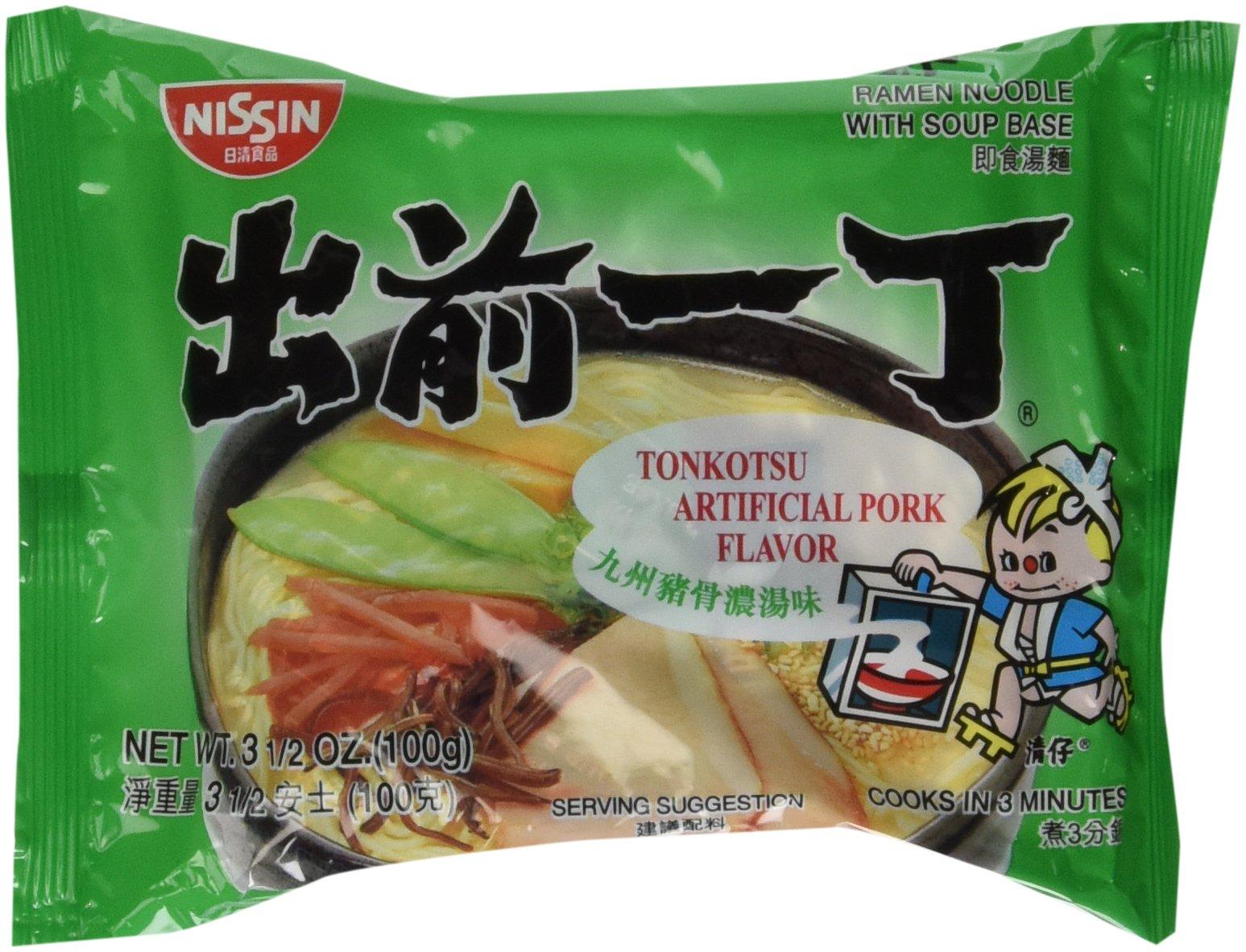 Nissin, Demae Ramen, Tonkotsu Pork, 3.5 oz by Nissin