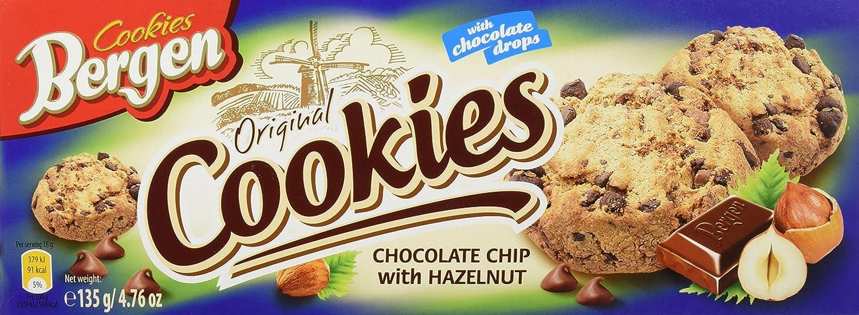 Bergen - Original Cookies - Galletas de chocolate con ...