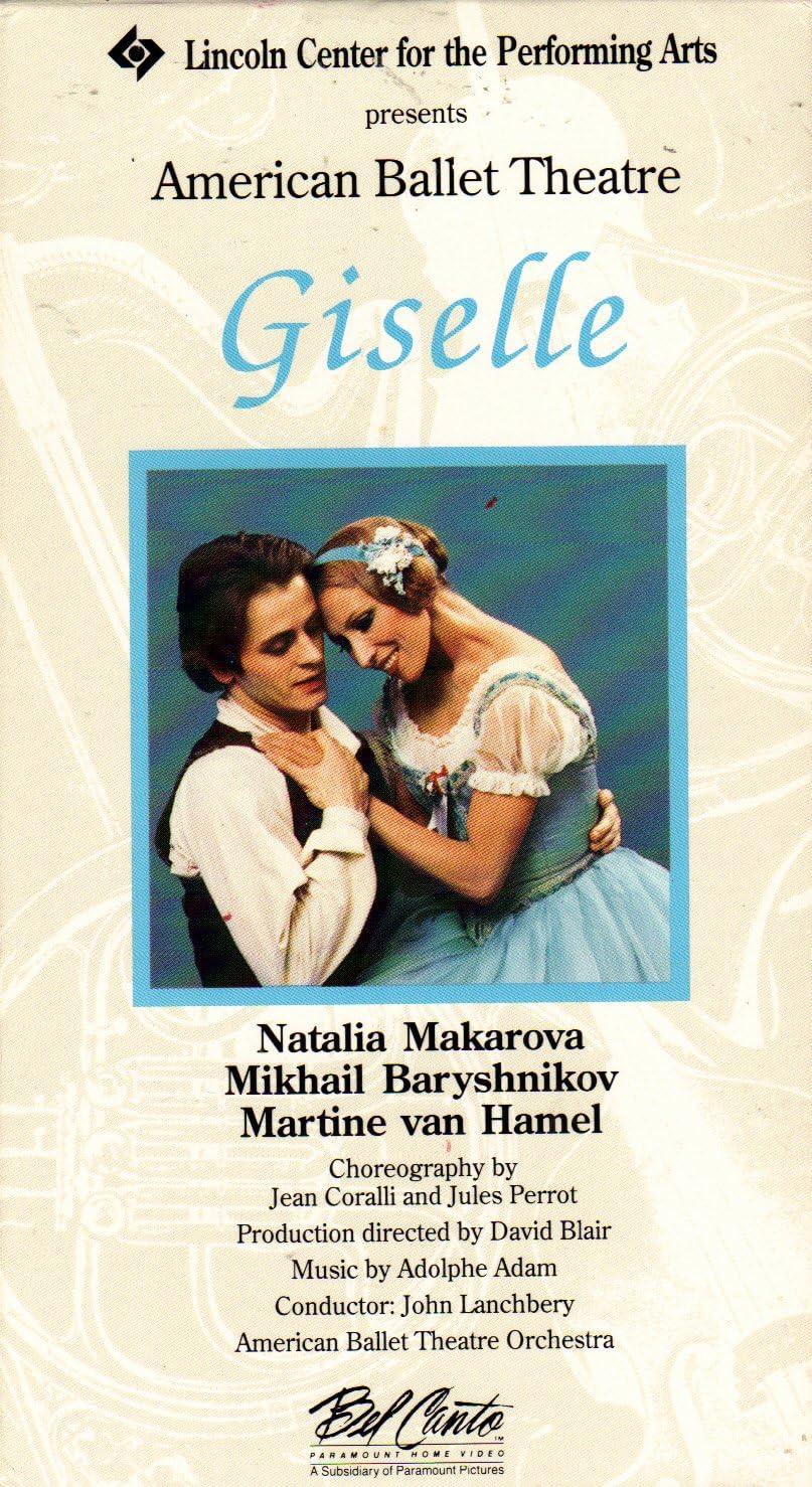 Amazon.com: Giselle (American Ballet Theatre) [VHS]: Mikhail ...