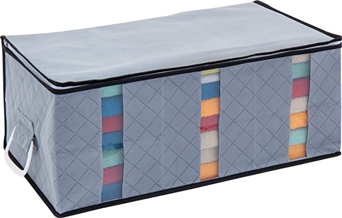 1 Storage Charcoal Fiber Under Bed Organizer by 1 Storage