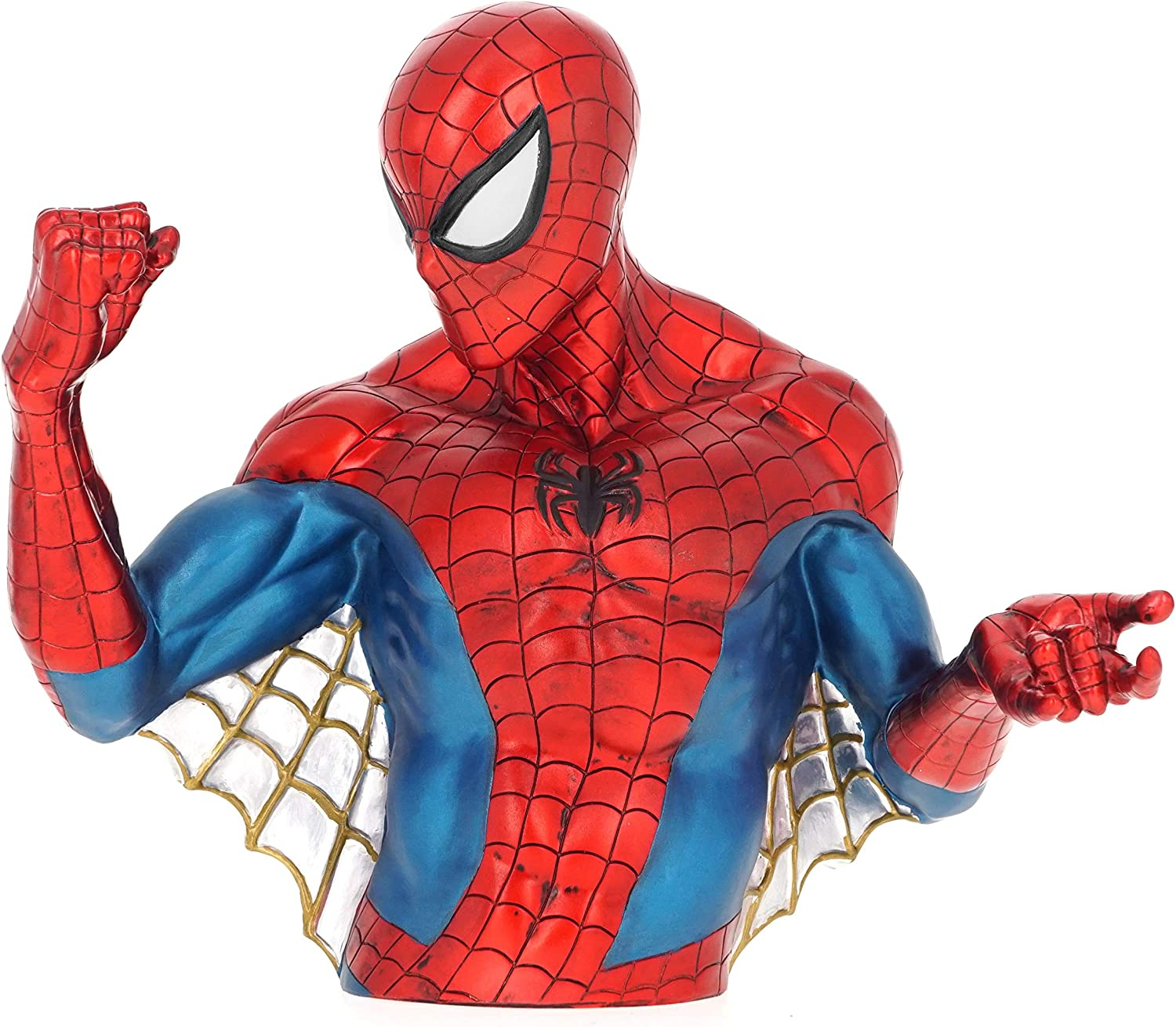 Marvel Spiderman Bust Coin Bank 3D Jouet Figurine Tirelire PVC
