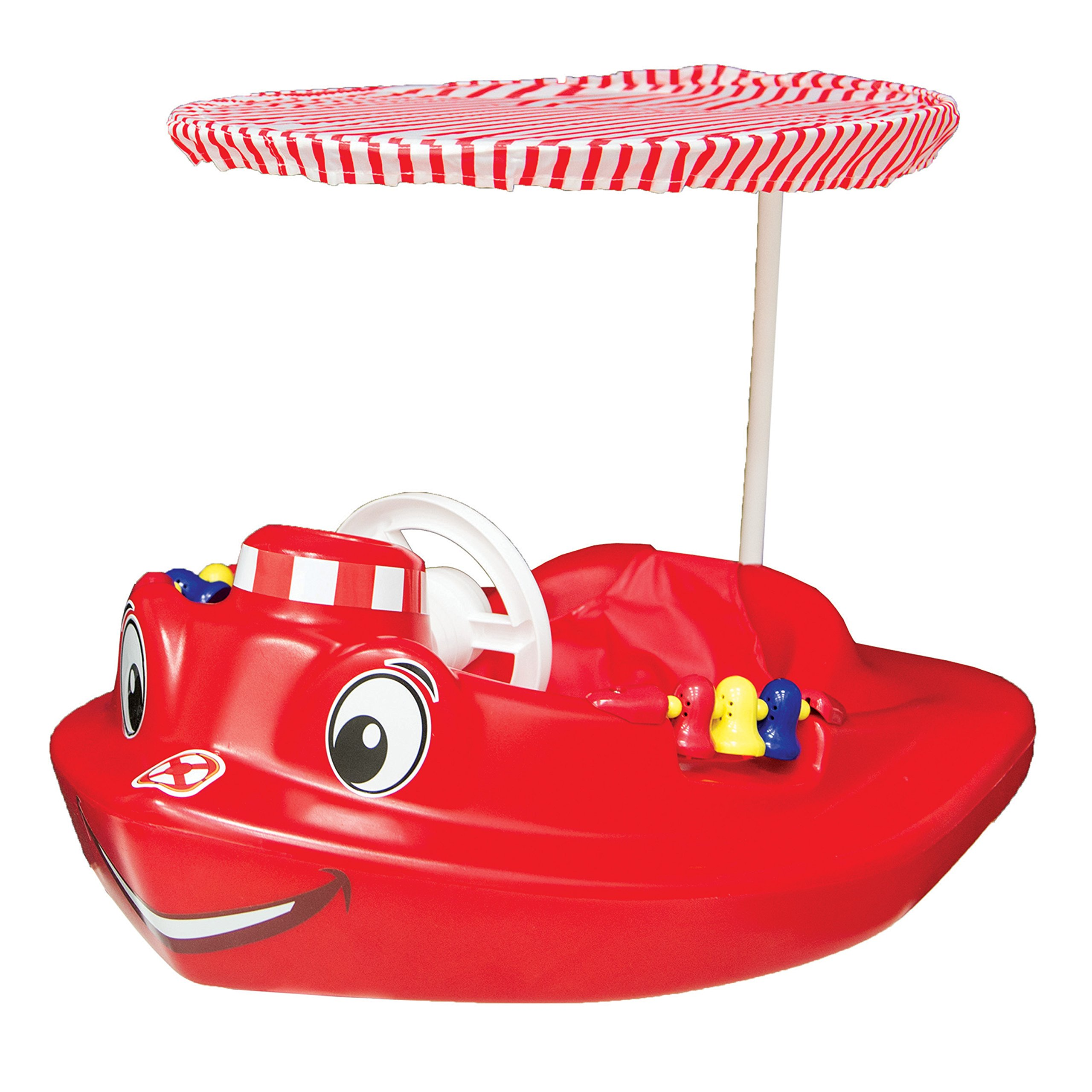 SwimWays Baby Tug Boat Plastic Float with Removeable Sun Canopy by SwimWays