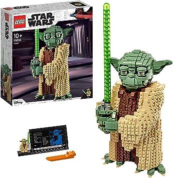 Oferta amazon: LEGO Star Wars TM - Yoda, Set de construcción del Personaje Jedi de la Guerra de las Galaxias, Inspirado en el Ataque de los Clones (75255)