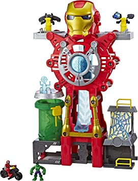Playskool E0394EU4 Marvel Super Hero Adventures Iron Man - Juego de Mesa: Amazon.es: Juguetes y juegos