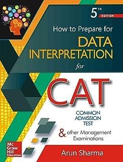 How to Prepare for Data Interpretation for Common Admission Test & Other Management Examinations price comparison at Flipkart, Amazon, Crossword, Uread, Bookadda, Landmark, Homeshop18