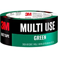 3M Multi-Purpose Duct Tape Green, 1.88 Inches by 20 Yards, 3920-GR