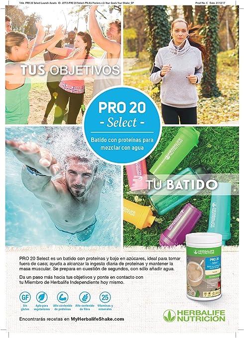 Herbalife - Batido de Proteina Pro20 Select sabor a Vainilla ...