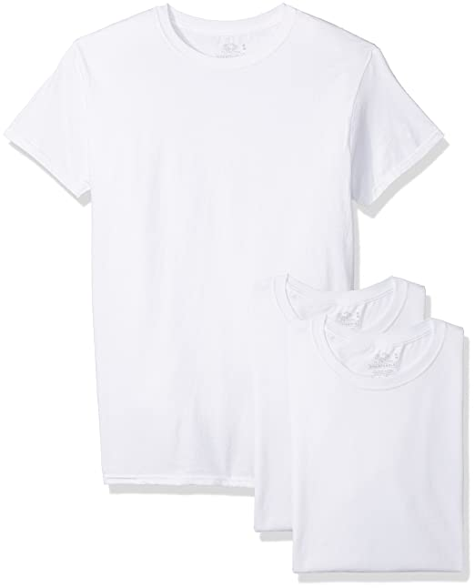 61a157be0 Fruit of the Loom Men s 3-Pack Breathable Crew T-Shirt at Amazon Men s  Clothing store
