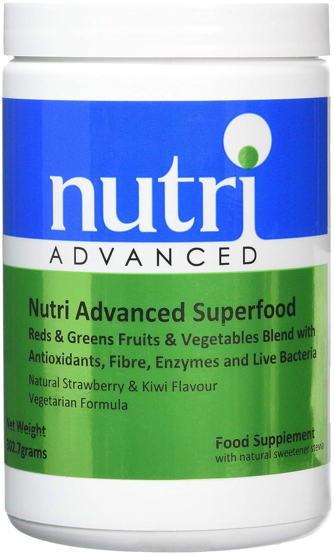 Nutri Advanced Súper alimento - 302,7 g - Rojos Y Verdes ...