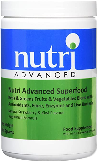 Nutri Advanced Súper alimento - 302,7 g - Rojos Y Verdes Frutas ...