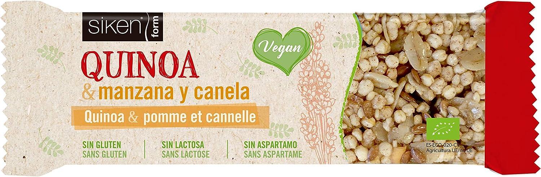 SIKEN FORM - Barrita vega snack quinoa y manzana, ECO BIO ...