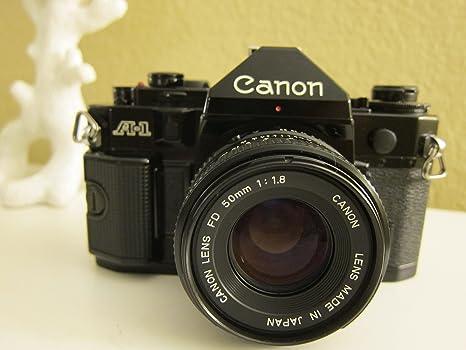 Canon A-1 A1 Cámara de Cine con 50 mm Lente: Amazon.es: Electrónica