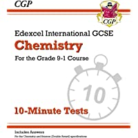 New Grade 9-1 Edexcel International GCSE Chemistry: 10-Minute Tests (with answers)