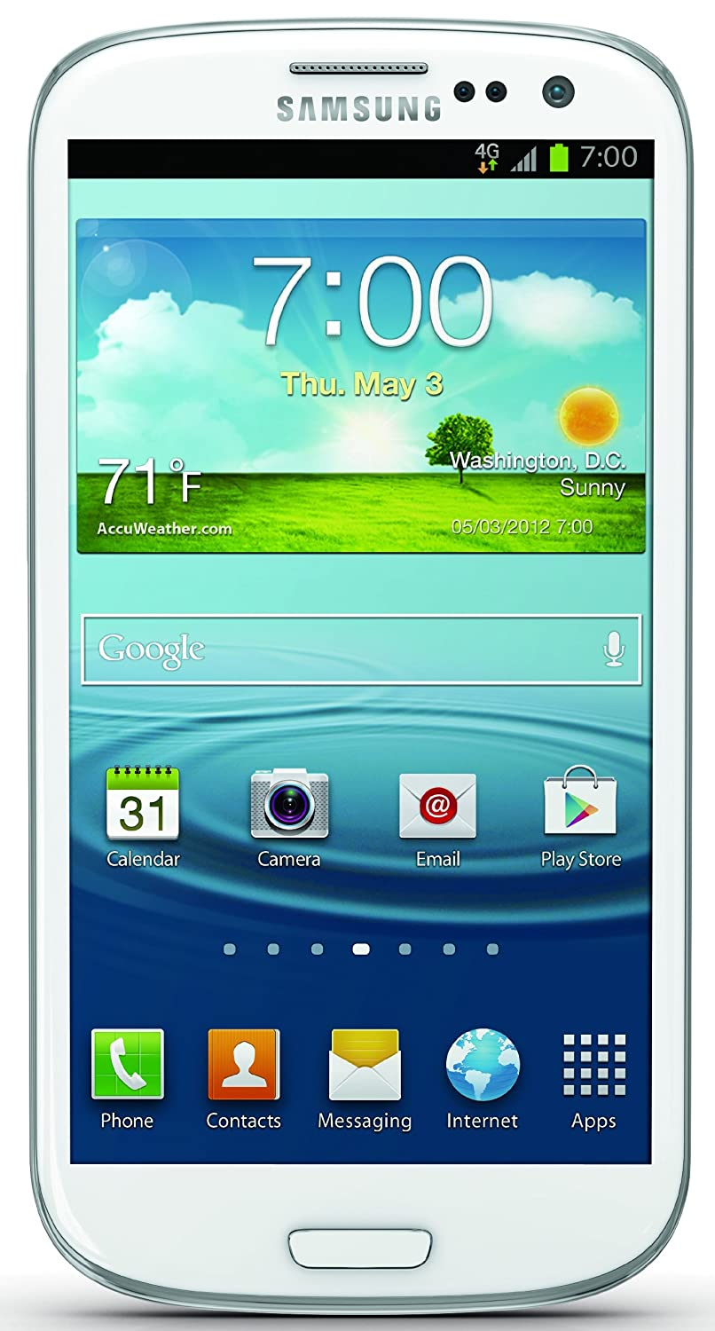 Amazon Samsung Galaxy S Iii White 16gb Sprint Cell Phones