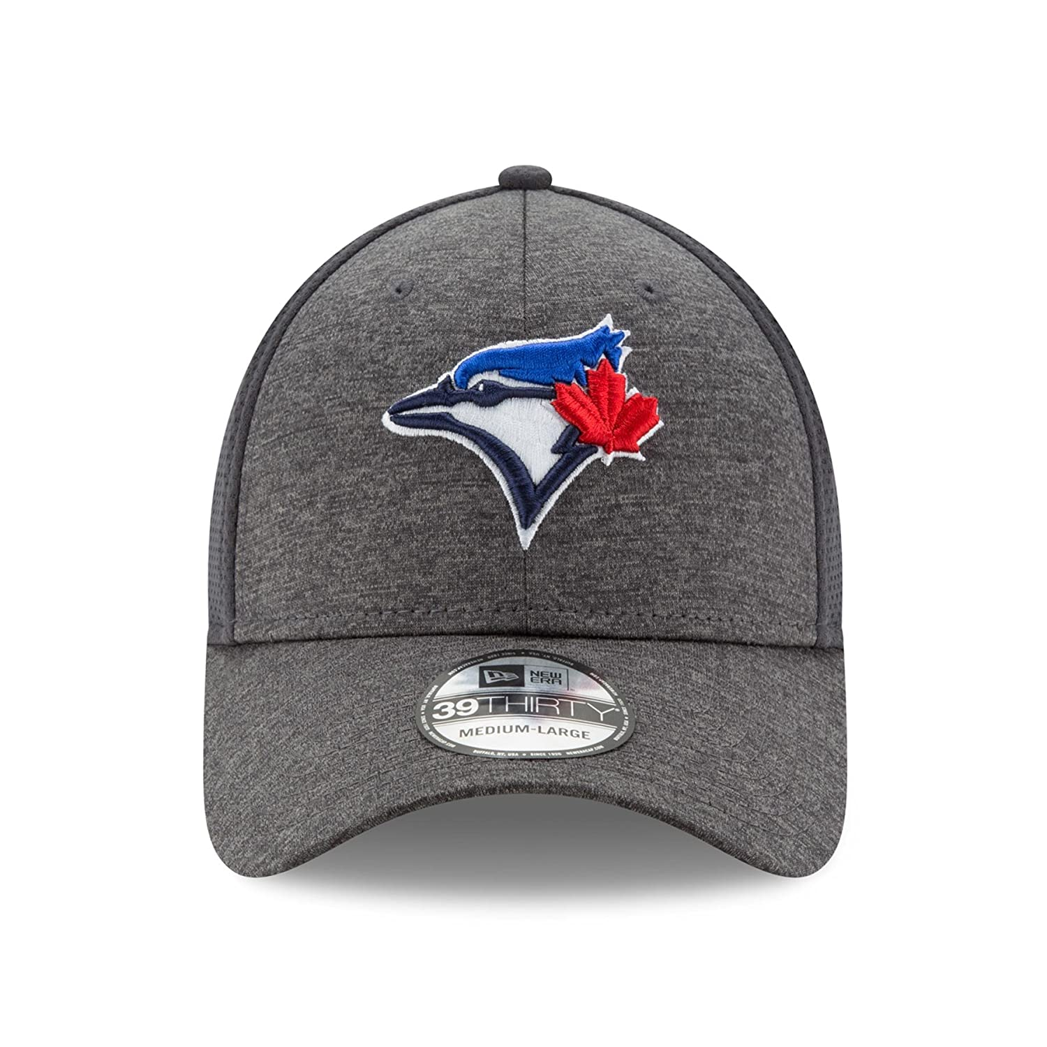 new product a3924 531bf ... hot toronto blue jays shadowed team 2 39thirty stretch fit hat graphite  size medium large baseball