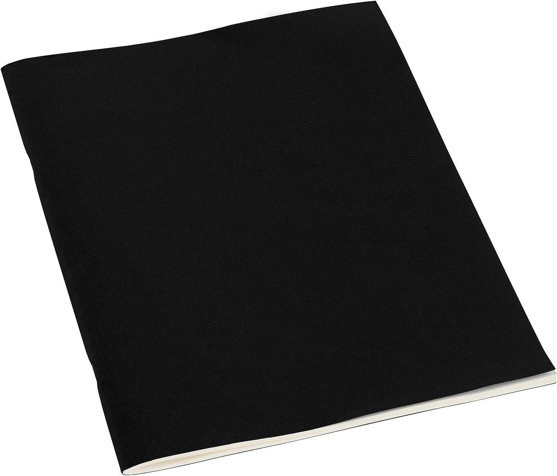 Semikolon blau 351430 64 Seiten aus cremefarbenem 100 g//m2-Papier - Schulheft mit 32 Bl/ättern Filigrane Heft Blanko A4 marine
