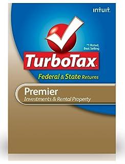 Amazon com: TurboTax Premier Fed + Efile + State 2013 OLD VERSION