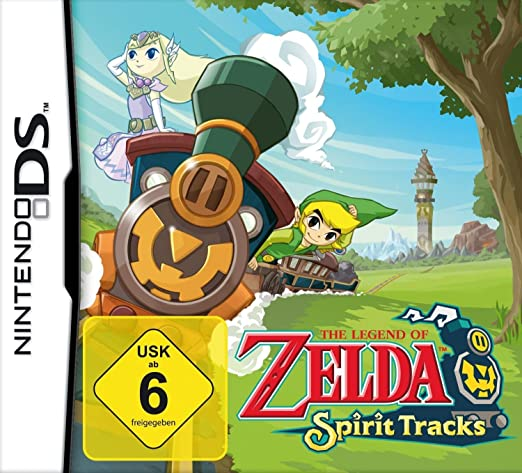 The Legend of Zelda: Spirit Tracks [Importación alemana]: Amazon ...
