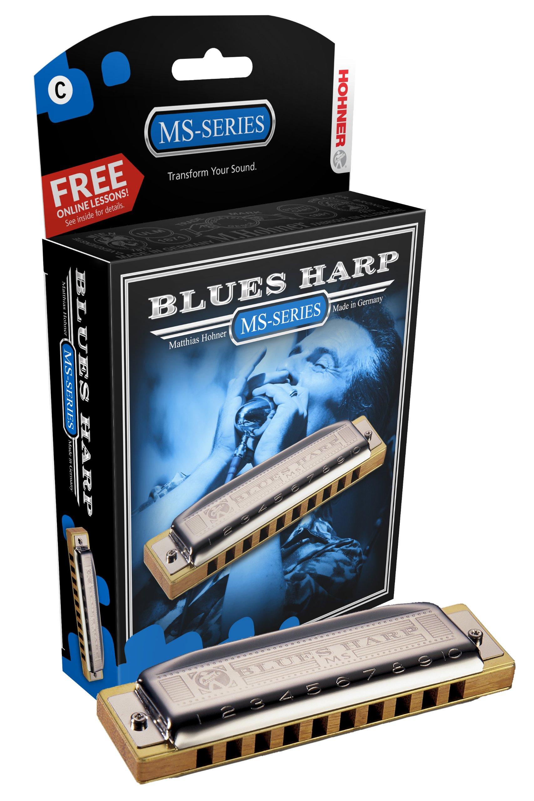 Hohner 532BX-A Blues Harp, Key Of A Major